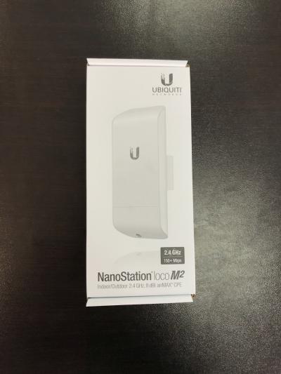 Wi-Fi точка доступа Ubiquiti NanoStation Loco M2 -150Mbps+ 2,4GHz 802.11b/g/n/AirMax